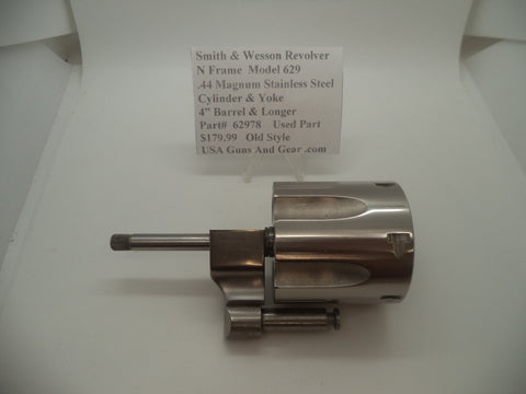 62978 Smith & Wesson N Frame Model 629 Stainless Steel Cylinder .44 Magnum