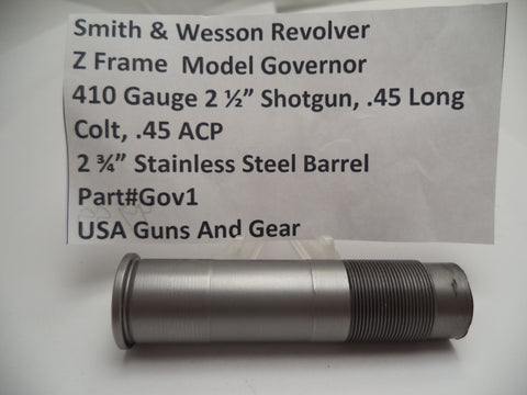 "GOV1 Smith & Wesson  Z Frame Governor Model 2 3/4"" Barrel Fits Many Calibers"