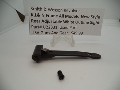 GA2 Uncle Mikes Grips Model 599012 for Smith & Wesson K & L Frame Round Butt