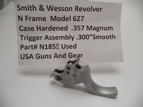 "N185E Smith & Wesson N Frame Model 627 Smooth Trigger .300"" .357 Magnum Used"