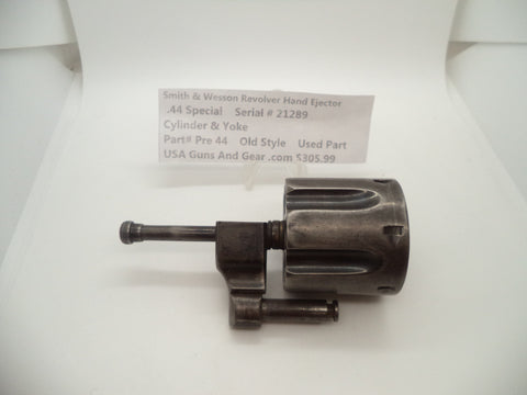 Pre44 Smith & Wesson Revolver Hand Ejector Cylinder and Yoke .44 Special