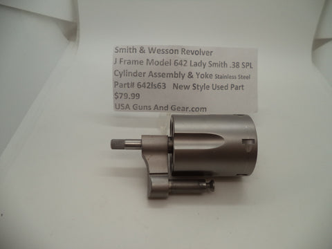642ls63 Smith & Wesson J Frame Model 642 Cylinder Assembly .38 Special
