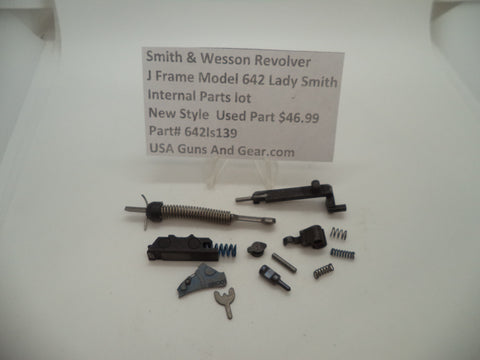 642ls139 Smith & Wesson J Frame Model 642 Internal Parts Lot .38 Special