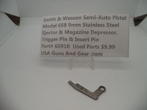 65910 Smith & Wesson Model 659 Trigger Pin & Insert Pin Used Part 9MM