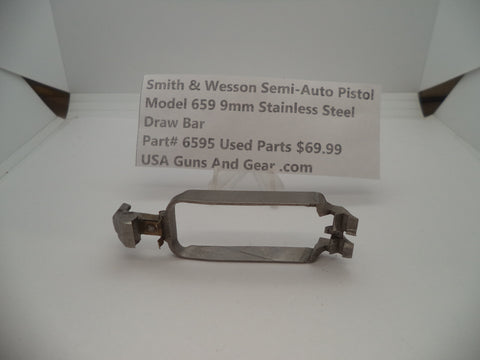 6595 Smith & Wesson Model 659 Draw Bar Used Part 9MM