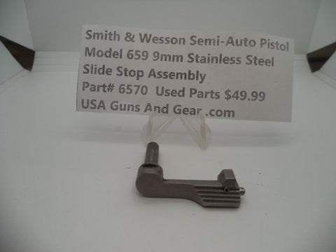 6570 Smith & Wesson Model 659 Slide Stop Assembly 9MM