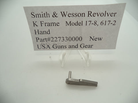 227330000 Smith & Wesson K Frame Revolver Hand Model 17-8 & 617-2 New