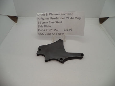 Pre29152 Smith & Wesson N Frame Revolver Pre-Model 29 .44 Magnum Side Plate Used
