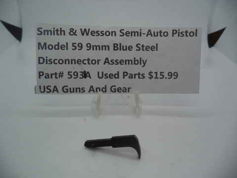 Copy of Part#5931A Smith & Wesson Model 59 9MM Disconnector Assembly Used Blue Steel 9MM