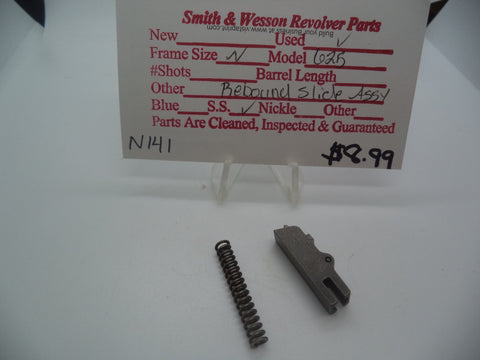 N141 Smith & Wesson N Frame Model 625 Rebound Slide & Spring Stainless Steel