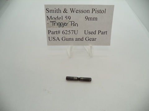6257U Smith & Wesson Pistol Model 59 Trigger Pin Used Part 9MM