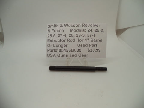"05456B000 Smith & Wesson N Frame Revolver Extractor Rod for 4"" or Longer Barrel"
