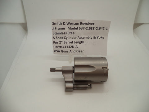 41132U-A Smith & Wesson J Frame Multiple Models Cylinder Assembly