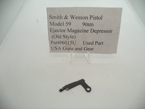 6015U Smith & Wesson Pistol Model 59 9MM Ejector Magazine Depressor Used Part