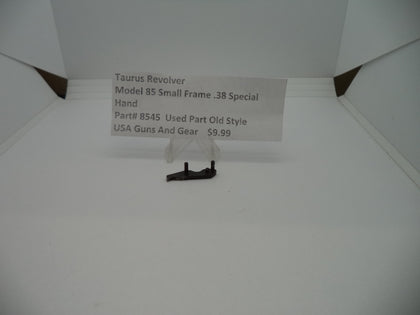 8545 Taurus Revolver Model 85 Small Frame Hand .38 Special Used Part