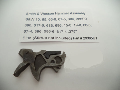 29365U1 Smith & Wesson K, L Frame Multi Model Hammer Part MIM New Style