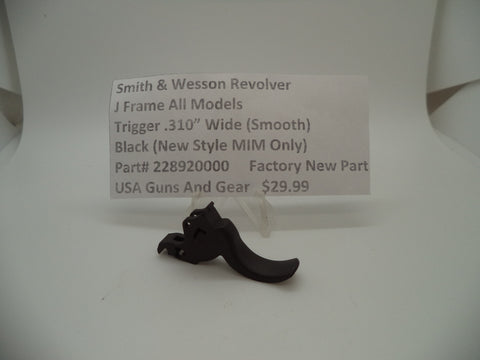 228920000 Smith & Wesson J Frame All Models MIM Smooth Trigger .310""