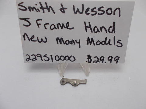 229510000 Smith and Wesson J Frame Hand