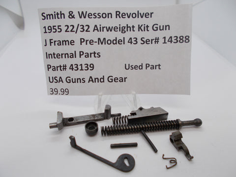 43139 Smith & Wesson J Frame Pre Model 43 Internal Parts Used Part