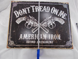 "HL001 ""Don't Tread On Me"" Tin Sign"