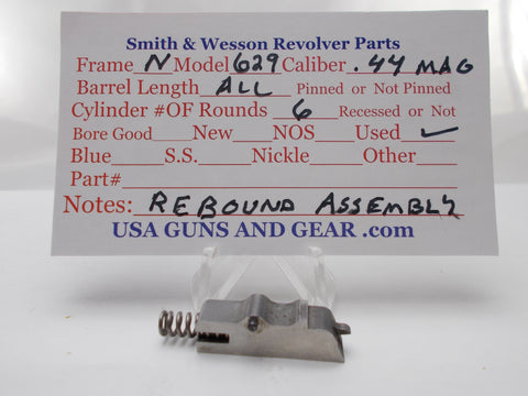 USA Guns And Gear - USA Guns And Gear Rebound Assembly - Gun Parts Smith & Wesson - Smith & Wesson