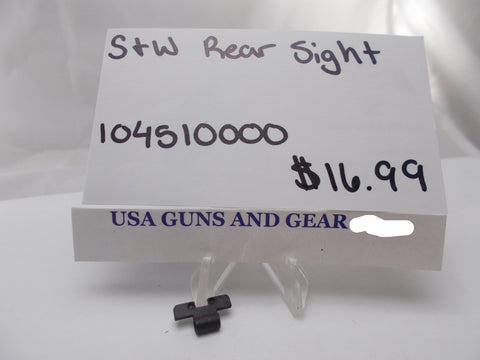 USA Guns And Gear - USA Guns And Gear Rear Sight - Gun Parts Smith & Wesson - Smith & Wesson