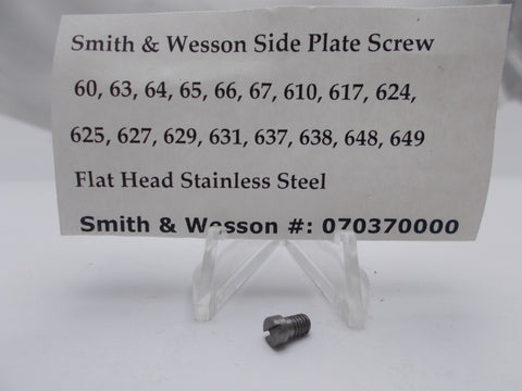 USA Guns And Gear - USA Guns And Gear Sideplate Screw - Gun Parts Smith & Wesson - Smith & Wesson