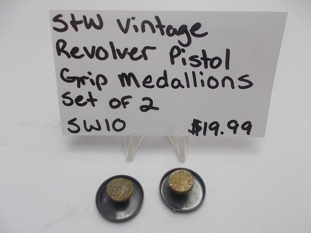 Smith & Wesson Pistol Grip Medallions- USA Guns And Gear