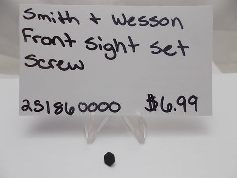 251860000 Smith & Wesson Pistol Front Sight Set Screw New Part Multi Models