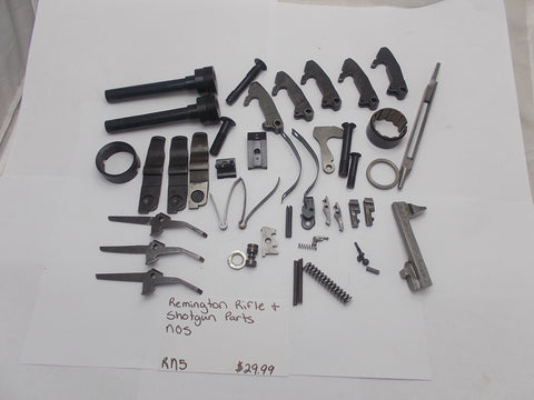 RN5 Remington Rifle & Shotgun Parts NOS