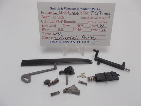 L51 Smith & Wesson L Frame Model 686 -6 Internal Parts Used 357Mag