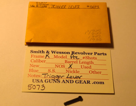 5073 Smith & Wesson K Frame Pre-Model Trigger Lever NOS