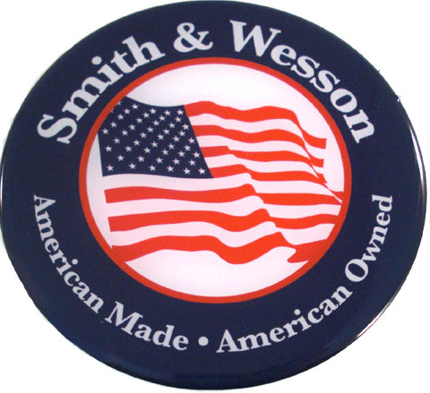 CH56003 Smith & Wesson Custom Gloss Decal Smith & Wesson and The American Flag