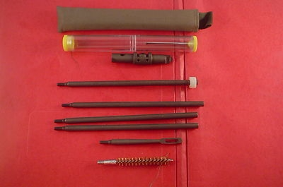 GT0030 Gun Cleaning Kit 30 Caliber USGI Style M1 Garand Butt Stock