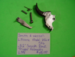 "L30 Smith & Wesson Used L Frame Model 686 & 586 .312"" Smooth Black Trigger Assembly"
