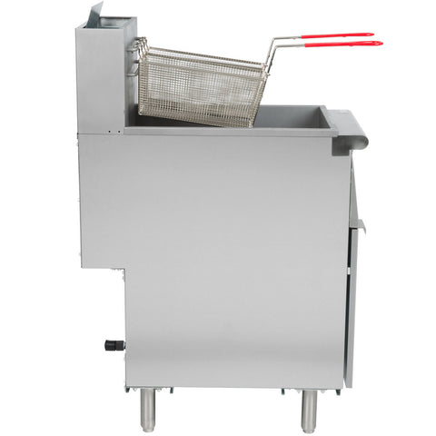 Floor Fryer Stainless Steel - Avantco FF Series FF300, FF400, FF518 - Your Everything Supplier