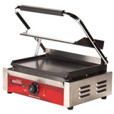 Panini Sandwich Grill Commercial Avantco P70S Single & P85S Double Smooth
