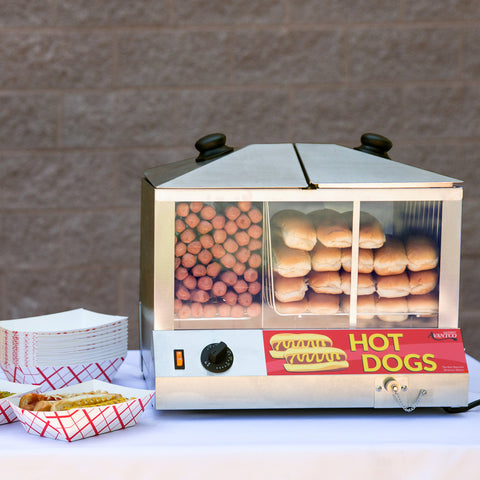 Hot Dog Steamer 100 Dog & 48 Bun Avantco HDS100 120V, 1300W - Your Everything Supplier (Y.E.S Ltd.)