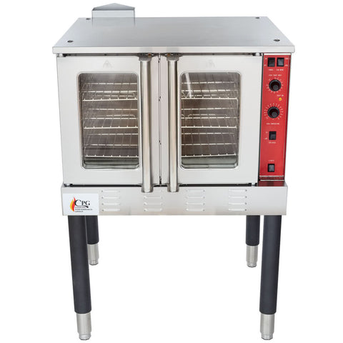 Convection Oven FGC100N Single Deck Full Size Natural Gas with Legs - 54,000 BTU - Your Everything Supplier