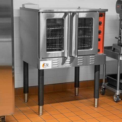 Convection Oven FGC100L Single Deck Full Size Electric with Legs - 54,000 BTU - Your Everything Supplier