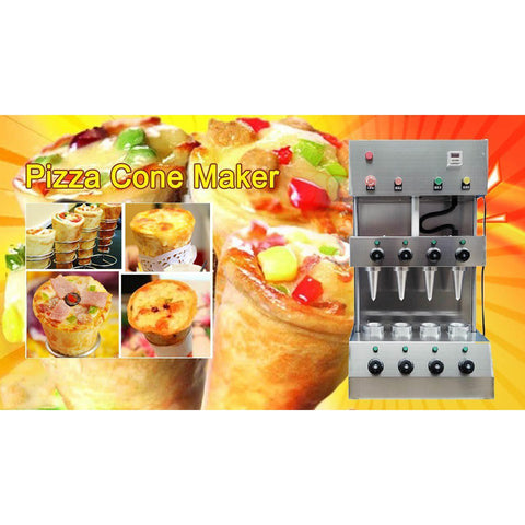 Pizza Cone Maker 4 Cones 3 Piece Set - Your Everything Supplier