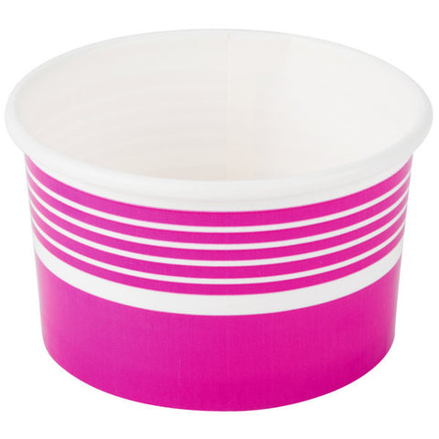 Cup Frozen Yogurt/Ice Cream Cup Paper - 1000/Case 6, 8 or 12 oz.