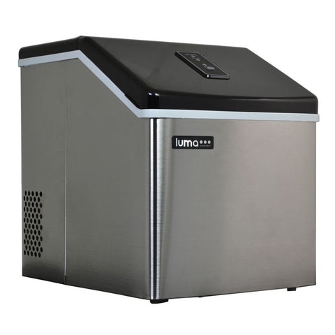 Best Portable Ice Machine Restaurant Maker Clear Ice Cubes Countertop Stainless - Your Everything Supplier (Y.E.S Ltd.)