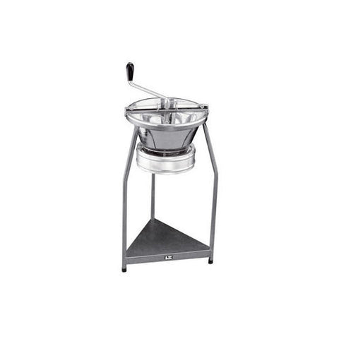 Rotary Food Mill and Stand Tellier P10 Tin-Plated 12 Qt. Capacity
