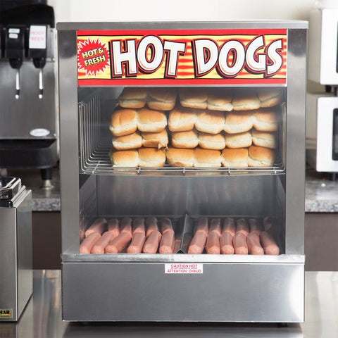Hot Dog Steamer APW Wyott DS-1A Mr. Frank - Your Everything Supplier (Y.E.S Ltd.)