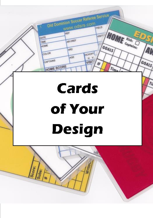 "Cards from your ""Fully Customized Design*""- Extra Large (CD-4) - WriteOnCards.com"