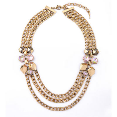 Mediterranean Statement Necklace