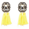 Vintage Tassel Statement Earrings