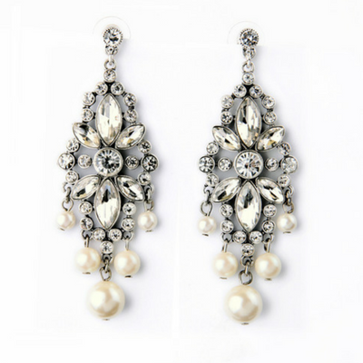 Princess Chandelier Statement Earrings