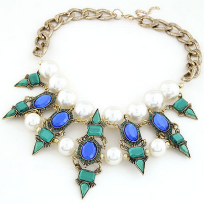 Esmeralda Statement Necklace